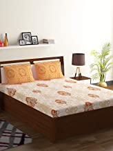 Bombay Dyeing Cotton Double Bedsheet with 2 Pillow Covers