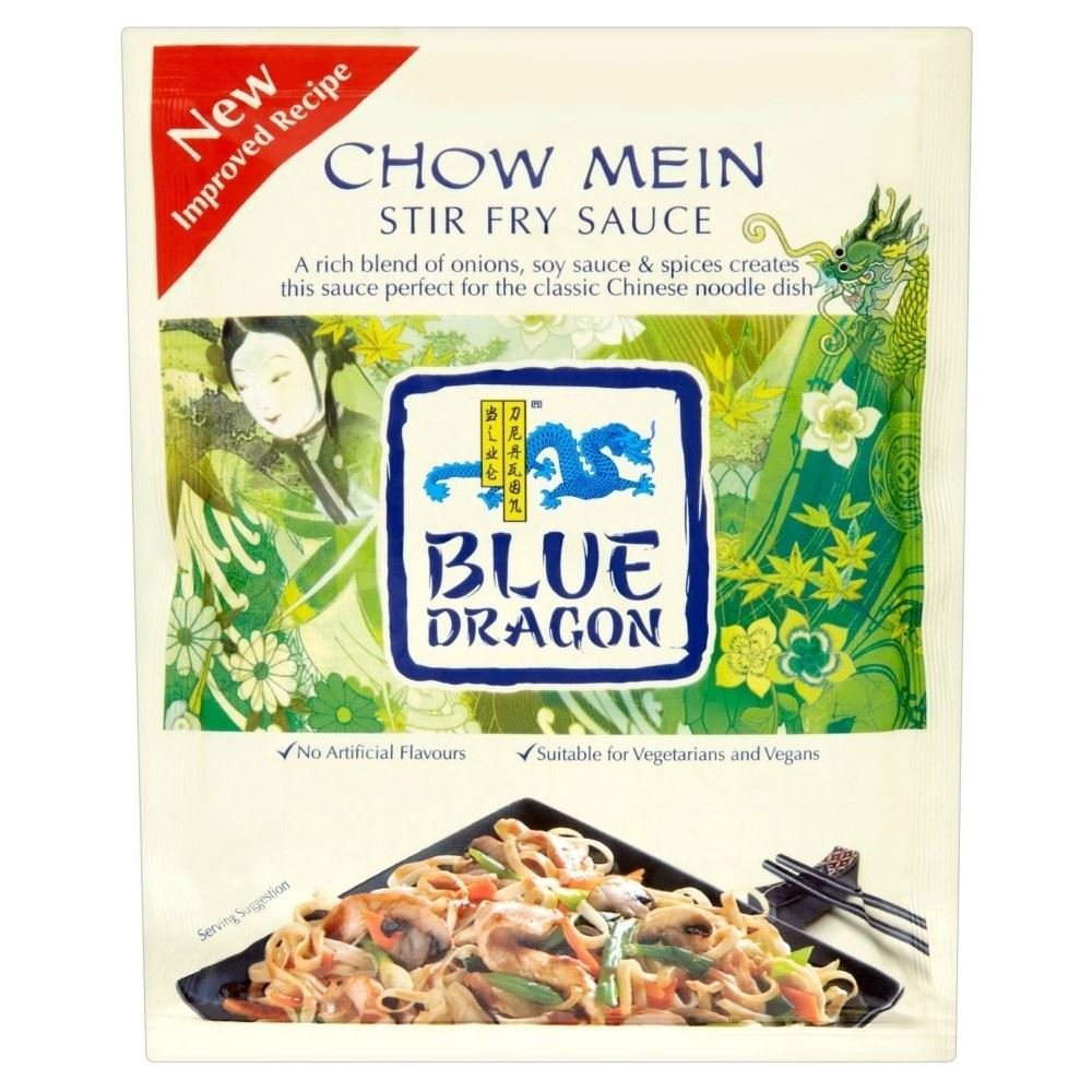 Blue Dragon Stir Topics on TV Fry Sauce - Mein 120g of 2 Pack New item Chow