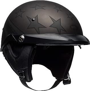 Bell Pit Boss Open-Face Motorcycle Helmet (Honor Matte Titanium/Black, Medium)