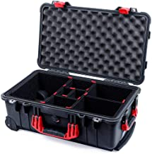 Black & Red Pelican 1510 case, with TrekPak Divider System.