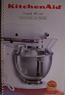 KitchenAid Stand Mixer Instructions and Recipes [ 9704323 Rev A ]