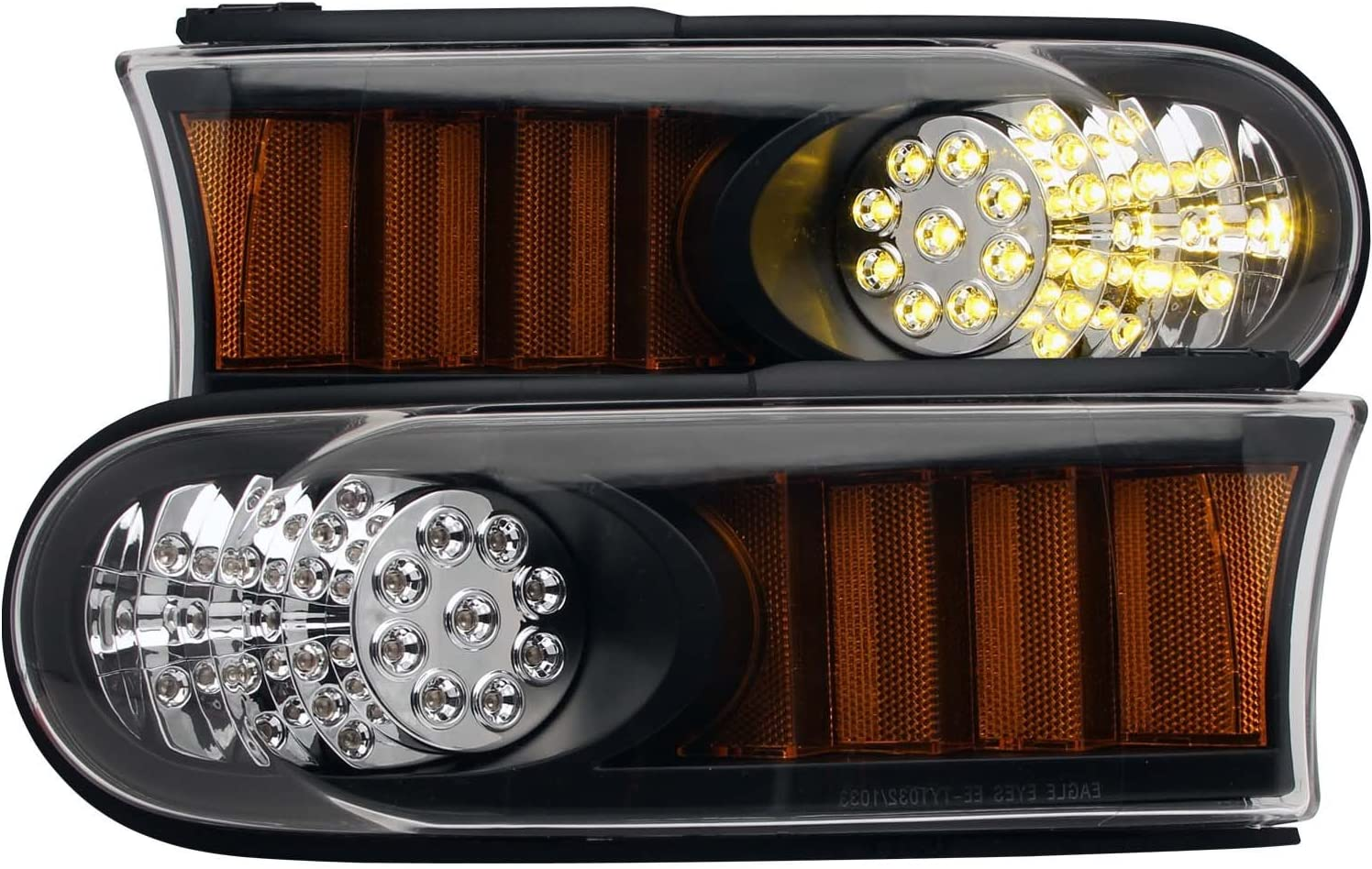 HEADLIGHTSDEPOT LED Soldering Park Outlet sale feature Lights Compatible Cruise FJ with Toyota