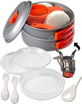 gear4U Camping Cookware Kits - top Best Camping Cookware For Family