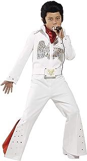 Smiffys 36104L- Traje de Elvis para niños , traje y bufanda