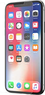 tech21 - Phone Case Compatible for Apple iPhone X/XS Screen Protector - Impact Shield with Self Heal
