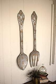 fork spoon wall decor