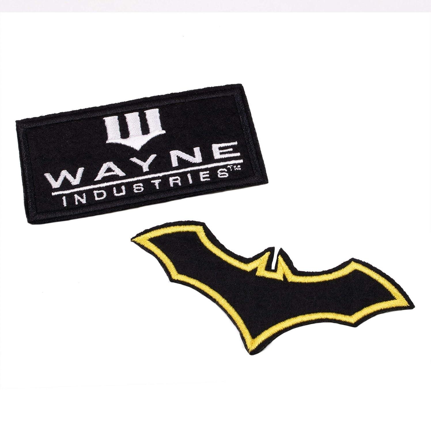 Batman Emblem Patches Set for Bags, Coat, Jacket, Backpack, Ha,t Cap, Tactical Vest & More