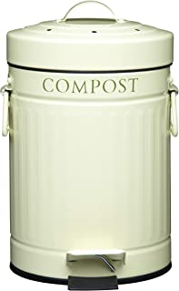Compost Bin with Charcoal Filter - 3 Litre