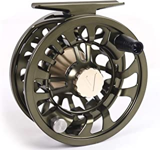 New 2019 Colorado Fly Fishing Reel 5 6 7 Weight Trout Bass Fishing Super Large Arbor, Multi-disc Drag Wheel Ergonomic Handle Left/Right Handed, Sealed for Fresh or Salt Water
