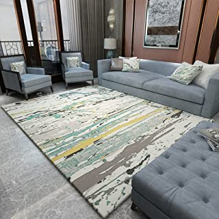 Area Rugs Pile Shag Rug Contemporary Living & Bedroom Soft Shaggy Area Rug Carpet Bedroom Simple Coffee Table Rug Living R...