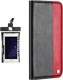 WaiterQA Case for Samsung Galaxy A6 Plus(2018), Luxury Leather Bussiness Phone Case Cover for Bussiness Gifts
