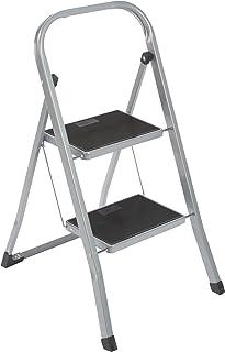 axentia – Escalera plegable con 2 peldaños, Taburete