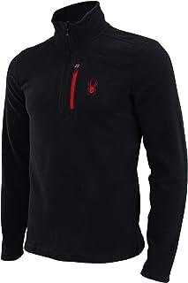 Spyder Men's Transport 1/4 Zip Pullover Sweatshirt, Color Variation