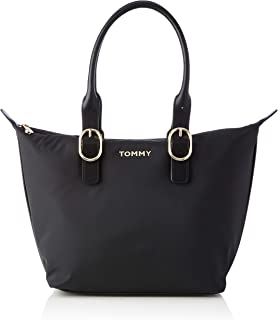 Tommy Hilfiger Recycled Nylon Tote, Sacs Femme, Taille Unique