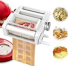 ANTREE 3-1 Ravioli Maker & Pasta Maker Attachment for KitchenAid Stand Mixers included Ravioli Maker, Pasta Sheet Roller a...