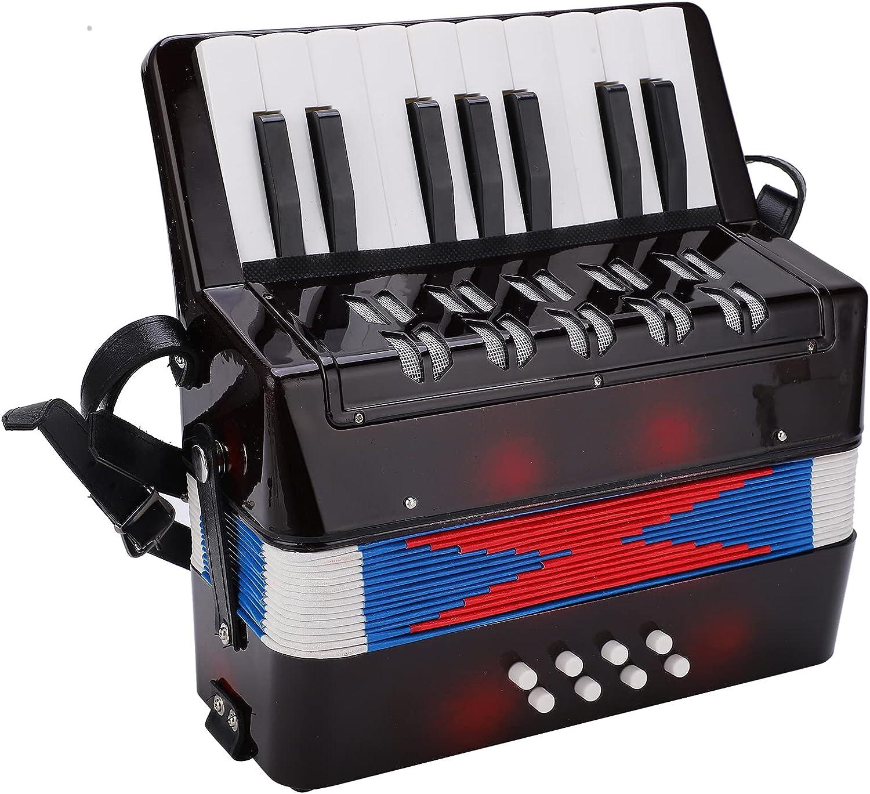 ShunFudz Accordion Mini Musical Spasm price Instrument Keyboa Piano Recommendation
