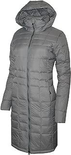 Columbia Women's Backcountry Blizzard Hooded Long Jacket Omni Heat, Grey
