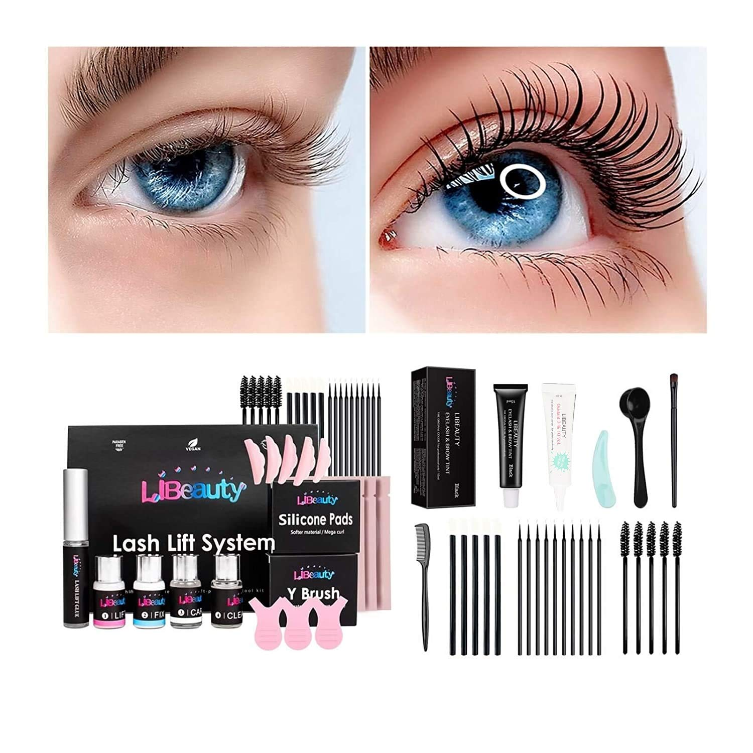Libeauty Black All stores are sold Lash Lift Kit 5 Eyelash Minute With D Perm Price reduction