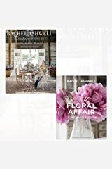 rachel ashwell couture prairie and rachel ashwell: my floral affair 2 books collection set - (and flea market treasures,whimsical spaces and beautiful florals) Hardcover