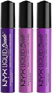 NYX PROFESSIONAL MAKEUP Liquid Suede Cream Lipstick Set No. 7