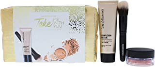 Bare Escentuals bareMinerals Take Me with You Set for Women Set, 05 Natural, 4 Piece Try-me Makeup Travel Set