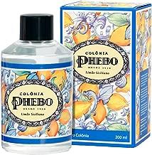 Linha Mediterraneo Phebo - Deo Colonia Limao Siciliano 200 Ml - (Phebo Mediterranian Collection - Eau de Cologne Sicilian Lemon 6.8 Fl Oz)