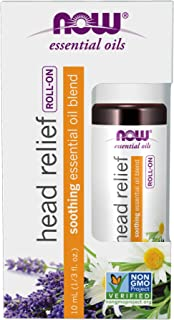 Now Foods Head Relief Essential Oil Blend Roll-On, 10 milliliters