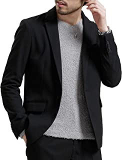メンズジャケット サマー テーラードジャケット 春 ビジネス おしゃれ スーツ生地 大きいサイズ