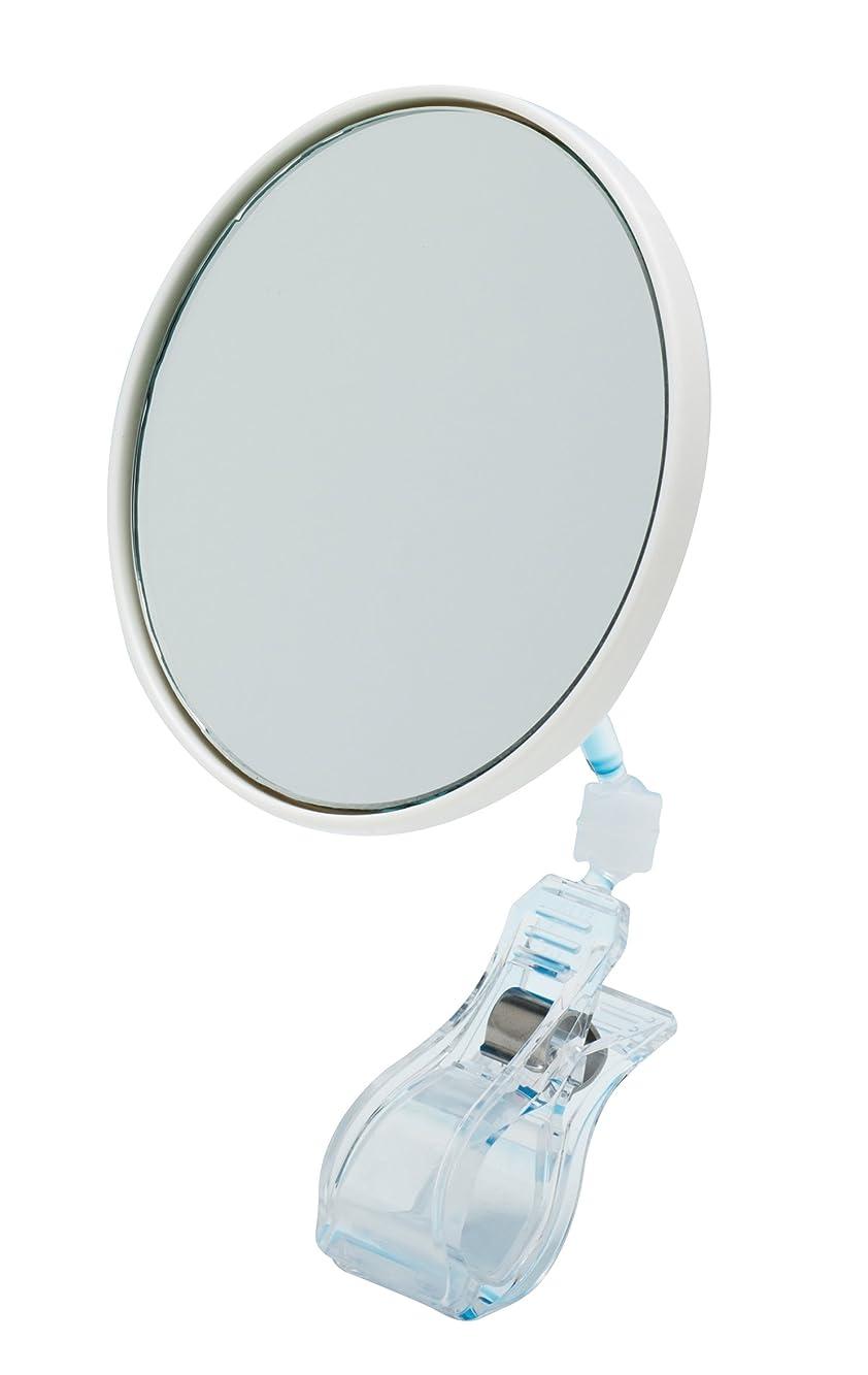 レインコート浅い排出ワンプラスクリップミラー×3倍鏡 拡大鏡 PC-03