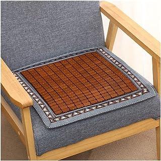 Cojines Muebles, Silla Verano cojín del asiento de ratón transpirable antideslizante Silla de oficina de bambú fresca del coche del cojín Mahjong Cojín de comidas 927