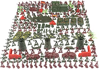 290Pcs Military Soldiers Model Toy, Military War Games,With Aircraft, Tanks And Other Rich Combat Scene Accessories, Army ...
