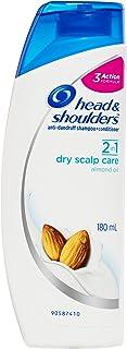 Head & Shoulders 2in1 Dry Scalp Care Anti-Dandruff Shampoo, 180 ml
