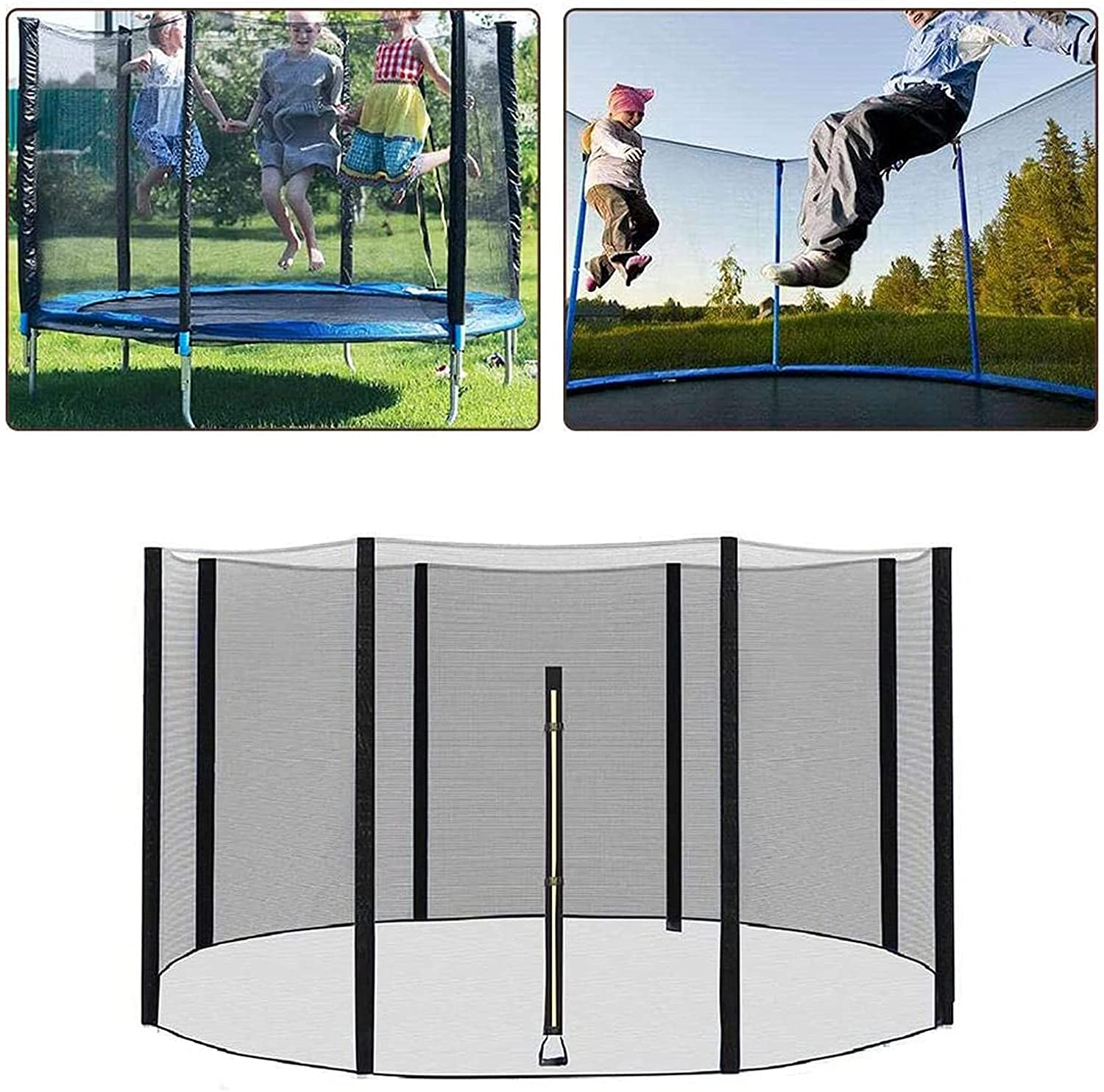 LIUSU Upper Bounce Trampoline sold out Net Replacement Max 59% OFF Safety