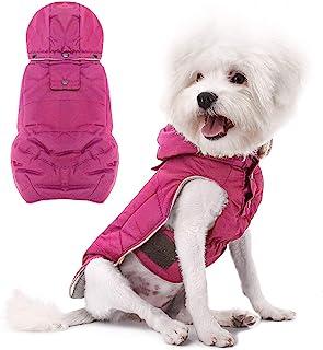 Namsan Abrigos para Perros Invierno Ropa para Mascota con Capucha Calentamiento Chaqueta para Perrito Gatito Medio Perro