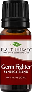 Plant Therapy Germ Fighter Essential Oil Blend 100% Pure, Undiluted, Natural Aromatherapy, Therapeutic Grade 10 mL (⅓ oz)