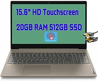 2021 Flagship Lenovo Ideapad 3 15 ノートパソコンコンピュータ 15.6インチ HD タッチスクリーンディスプレイ Intel デュアルコア Pentium Gold 6405U 20GB DDR4 512GB ...