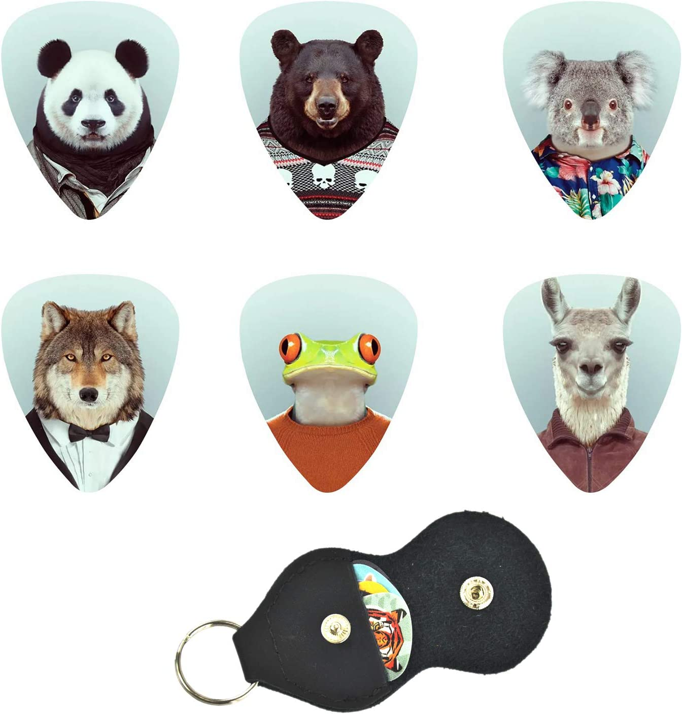 Chifisi In stock Unique Guitar Picks Celluloid - Pack Holder Seattle Mall 12 sui