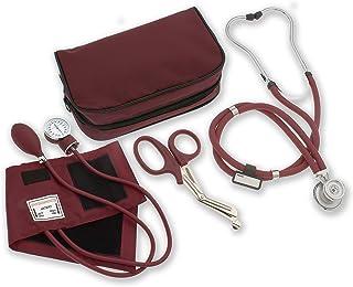 """استتوسکوپ ، ASTechmed Nurse / EMT Starter Pack ، مانیتور فشار خون و تروما رایگان 7.5 """"EMT برشی هدیه ایده آل برای پرستار ، EMT ، دانشجویان پزشکی ، آتش نشان ، پلیس و استفاده شخصی"""