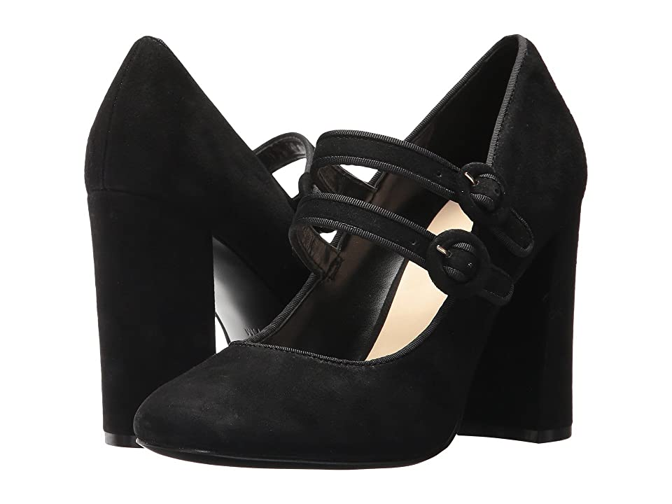 Nine West Dabney (Black Suede) High Heels