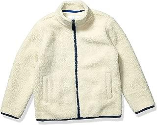 Boy's Polar Fleece Lined Sherpa Full-Zip Jacket