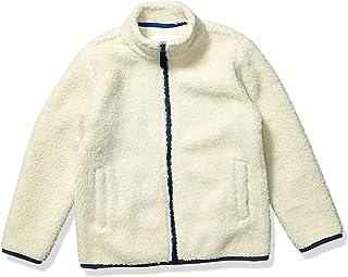 Amazon Essentials Full-Zip High-Pile Polar Fleece Jacket Niños