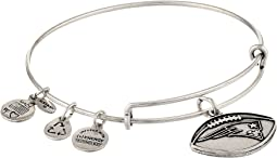 New England Patriots Football Charm Bangle
