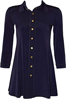 Empire ONE Button Jacket Fused Navy Eva Varro L//SL