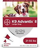 K9 Advantix II Flea and Tick Prevention for Large Dogs