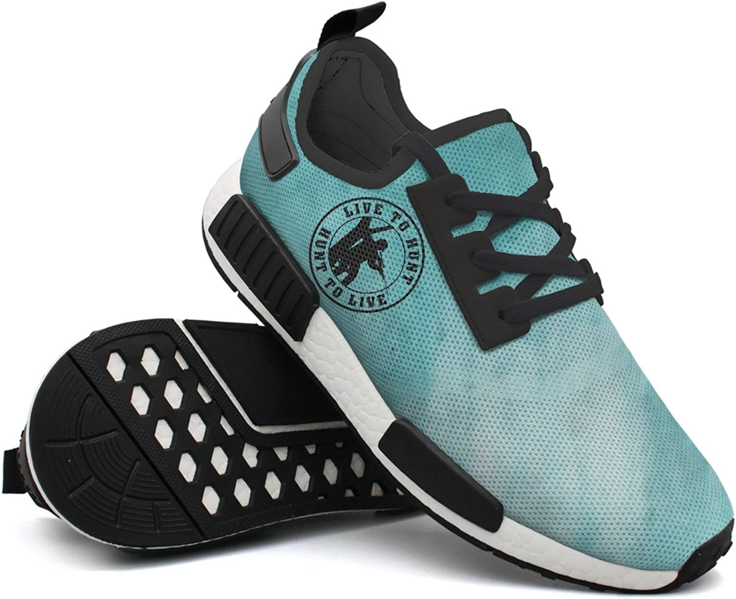 Hunt To Live Man's Gift Cool Fashion Running shoes Printing Men's