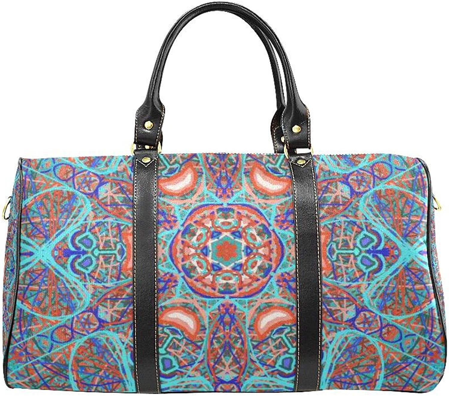 Sacred Geometry  Aladin  By MAR from Thleudron New Waterproof Travel Bag Small (Model 1639)