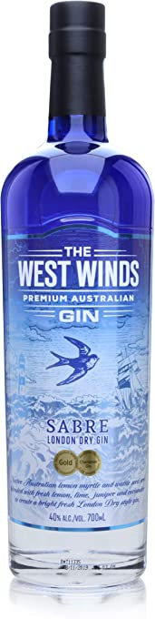 The West Winds Sabre London Dry Gin, 700 ml