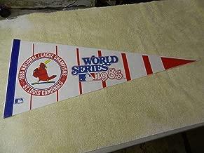 1985 ST.LOUIS CARDINALS WORLD SERIES BASEBALL Pennant/Banner excellent read description.