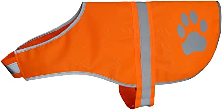Hiado Dog Reflective Safety Vest High Visibility for Walking Running Hiking to Keep Dogs Visible Safe from Cars and Hunting Accidents