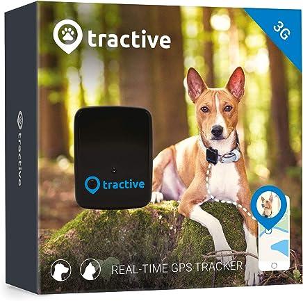 GPS, rastreador de mascotas para perros y gatos, impermeable, para fijación de cuello., Negro